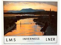 Vintage Scotland Prints