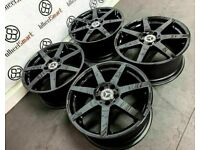 """GENUINE MERCEDES 18"""" AMG ALLOY WHEELS (AVAILABLE WITH TYRES) - 5 x 112 - CRYSTAL BLACK - 255"""