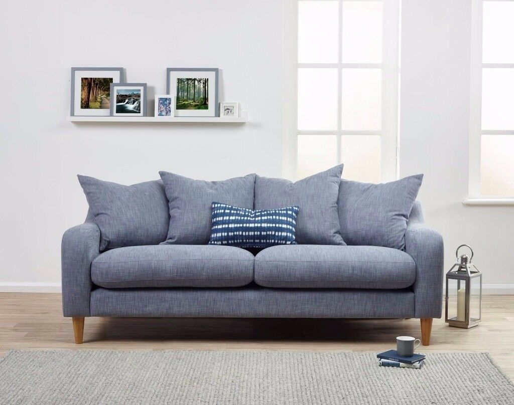Luxury Large 3 Seater Sofa   Premium Quality and Handcrafted   FREE DELIVERY