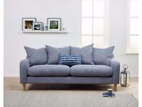 Luxury Large 3 Seater Sofa | Premium Quality and Handcrafted | FREE DELIVERY