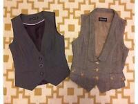 Pair of waistcoats, size 10