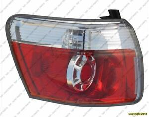 Tail Lamp Driver Side  GMC Acadia 2007-2012