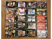 WANTED Nintendo 64 games N64
