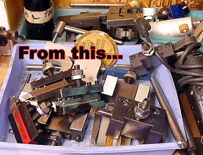 QC quick change tool holder rack mini hobby Metal lathe tool holder micro hobby