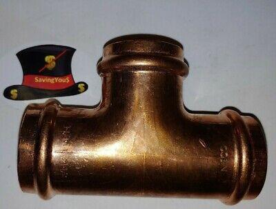 Nibco Press System - Wrot Copper Tee 1-14 9100050pc P X P X P