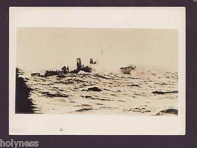 VINTAGE ORIGINAL WW 2 B&W PHOTO / NAVY / FRENCH FORCES