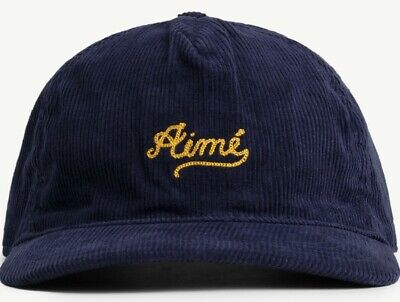 Aimé Leon Dore/ALD Chain Stitch Hat Blue (Evening Blue) NEW