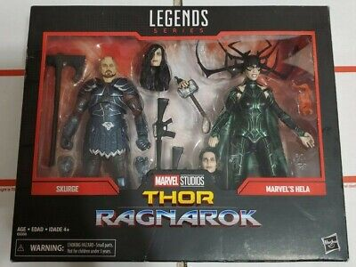 Marvel Legends Series Thor Ragnarok Skurge and Marvel's Hela