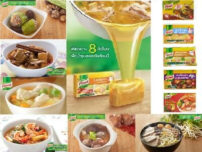 - Knorr Seasonings Bouillon Soup Seasoning Cubes Easy Cooking from Thailand