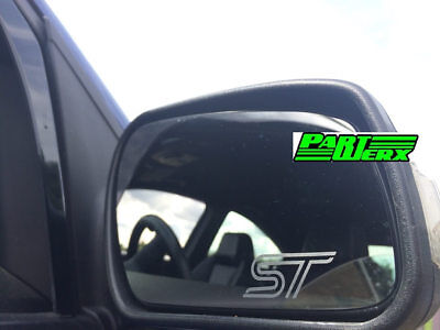 Ford Focus ST Fiesta Etched Engraved Wing Mirror Decals Stickers Badge Emblem