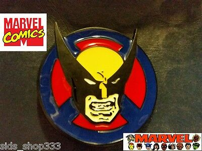 Xmen Kostüme (Retro WOLVERINE X-men Belt Buckle Full metal cosplay Movie XMEN collectible)