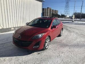 Mazda 3 GT with Leather Seats, Moon Roof, ETC! FULLY LOADED