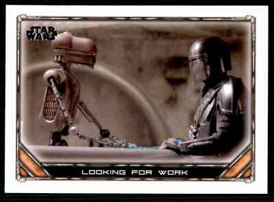 2020 Topps Star Wars The Mandalorian Looking For Work #56