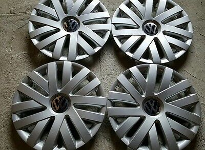 "SET of 4 61559 16"" Hubcaps Wheelcovers for 2010-2014 VW Volkswagen JETTA New"