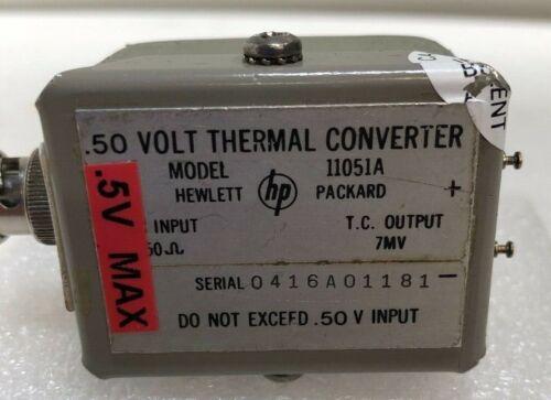 HP 11051A .50 VOLT THERMAL CONVERTER