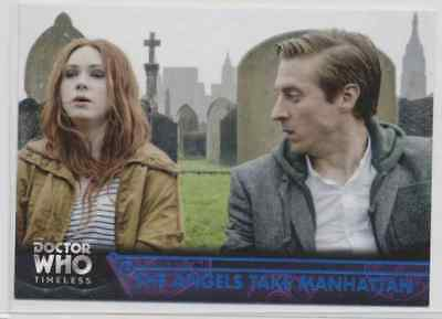 Lot of (15) 2016 Topps Doctor Who Timeless Blue Parallel Cards listed below /99