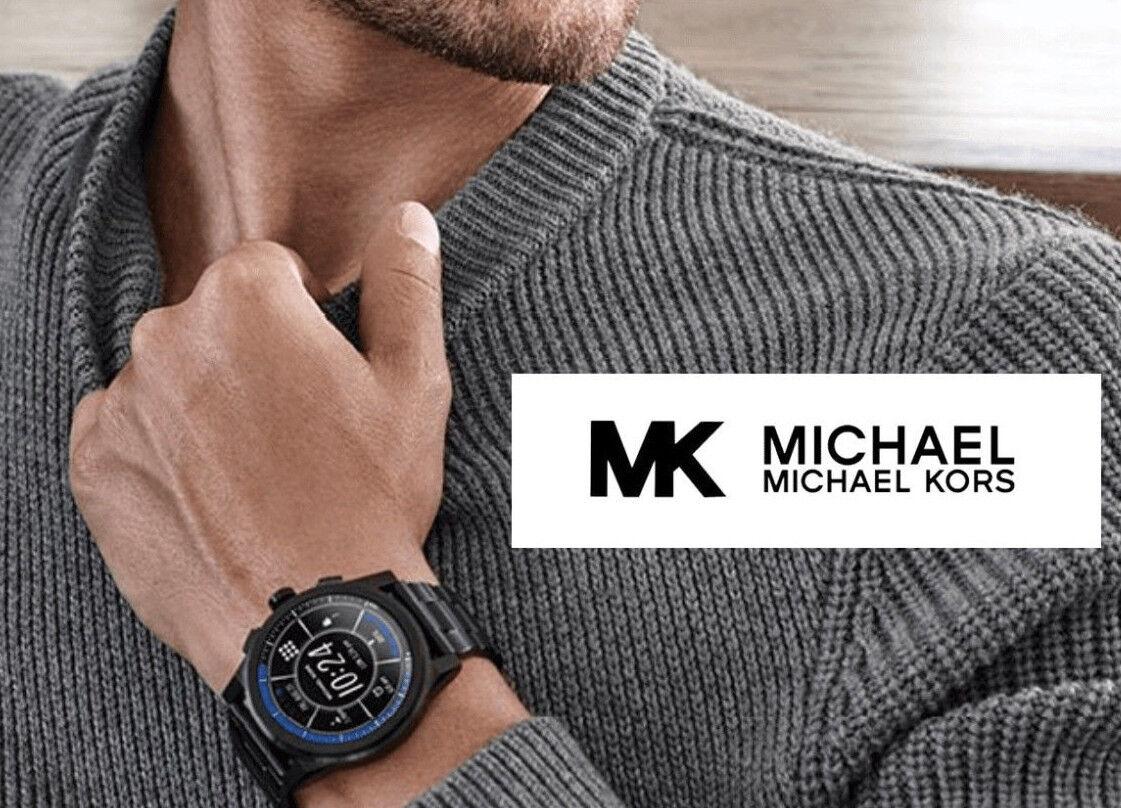 MICHAEL KORS 2020 Mens Access Grayson Smart Watch Black Touc