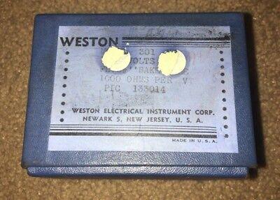 Weston Model 301 Milliamperes D.c. Meter New Old Stock