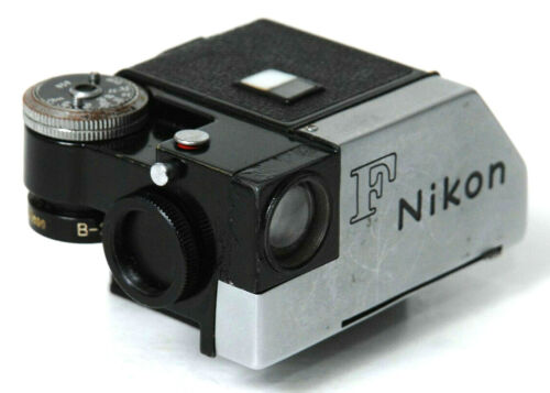 NIKON F PHOTOMIC PRISM FINDER #976341-Nikons 1st Photomic Finder from about 1963