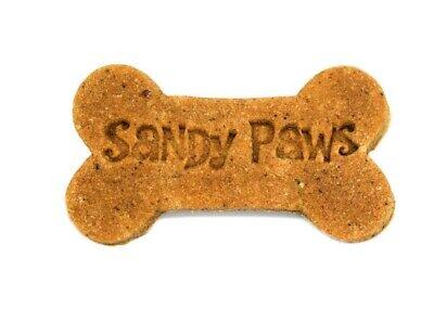 Gourmet Treats Gift (Sandy Paws Gourmet Dog Treats Organic Dog Cookies Peanut Butter Bones Gift Box )