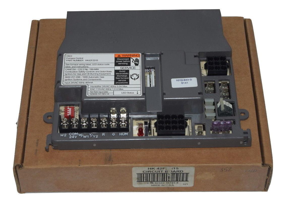 Carrier Circuit Board Hk 42fz 015 Furnace Control Hsci Old Stock Ebay Main Honeywell Rheem Ruud Heat Photo