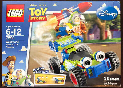 LEGO Disney Pixar Toy Story Woody and Buzz to the Rescue 7590 Brand New In Box