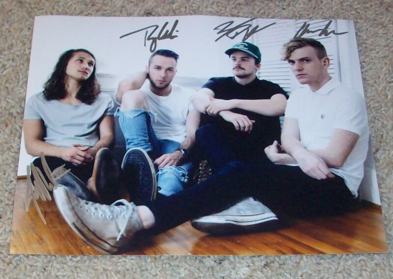 COIN BAND SIGNED AUTOGRAPH RUN 8x10 PHOTO F w/PROOF CHASE LAWRENCE +3