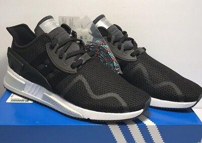 free shipping 0ebfb 0cc0e Adidas Mens Size 13 EQT Cushion Adv Originals Running Black White Shoes  CQ2377