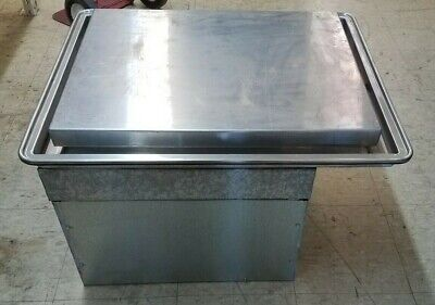 Atlas Metal Salad- Ice Cream Frost Top Refrigerated Wf-2 With Marble Top Working