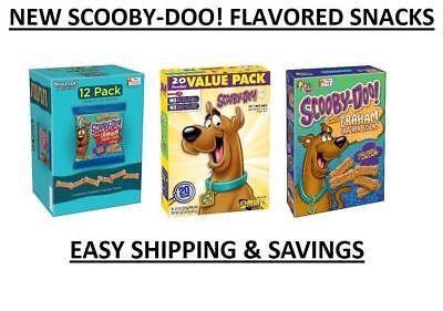 Betty Crocker Scooby Doo Fruit + Graham Flavored Snacks Pick One EASY SHIPPING Betty Crocker Snacks