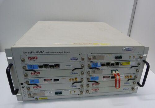 Spirent Smartbits 6000C SMB-6000C   Network Test Mainframe  XFP-3730A
