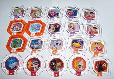 Disney Infinity Power Discs Complete Finish Your Set Lot Used Disc All