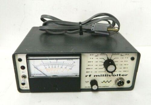 HELPER INSTRUMENTS RF801 RF MILLIVOLTER