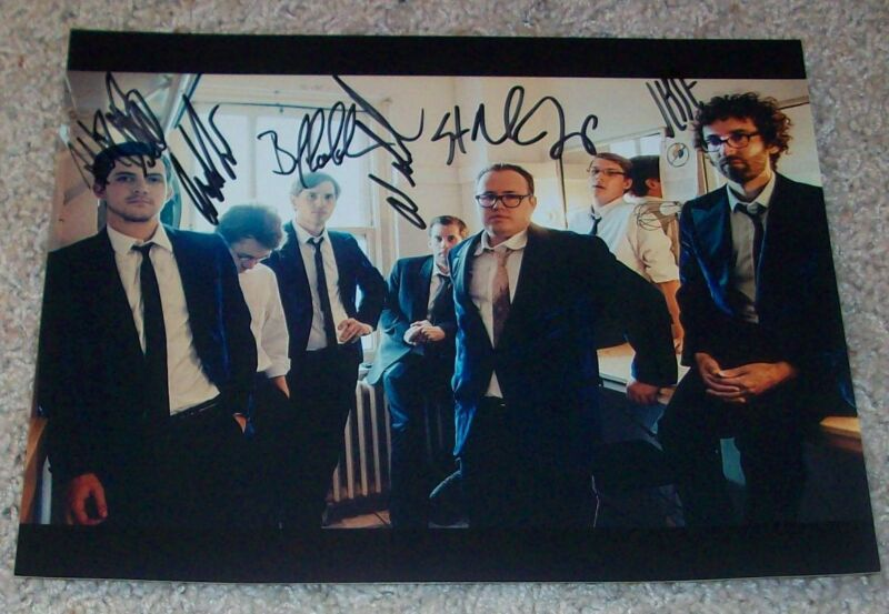 ST. PAUL & THE BROKEN BONES SIGNED AUTOGRAPH 8x10 PHOTO JANEWAY +5 w/EXACT PROOF