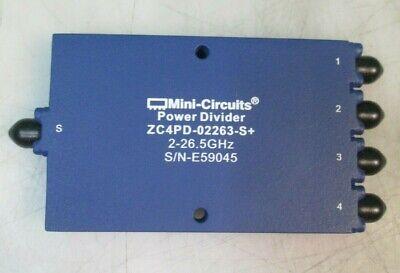 Mini-circuits Zc4pd-02263-s Power Dividercombiner 2000 - 26500 Mhz High Power