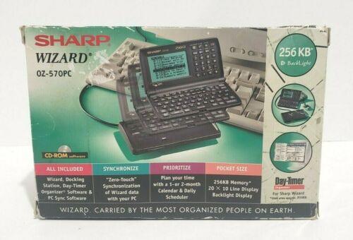 SHARP WIZARD DAY-TIMER ORGANIZER OZ-570PC — New In Box
