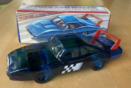 Avon Stock Car Racer Wild Country After Shave - Full in Box