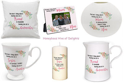 PERSONALISED The BEST Thing About Having You GIFT IDEAS For Her Birthday