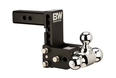 B&W Tow and Stow Hitch Ball Mount - 5