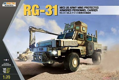 KINETIC 61015 US Army RG-31 Mine-Protected Armored Vehicle in 1:35