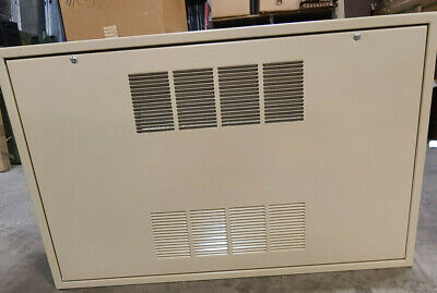 Modine Hot Watersteam Cabinet Heater. 250cfm. Front Inout.2 Row Coil.