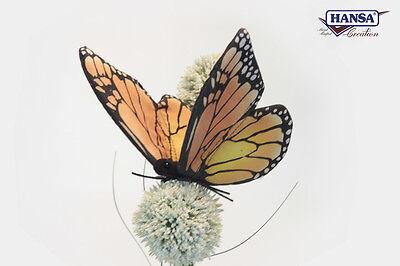 Hansa Monarch Butterfly 6551 Realistic Plush Stuffed Animal New Christmas Gift