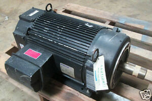 New powertec 30hp brushless dc motor frame 287tcz model for 10 hp dc electric motor