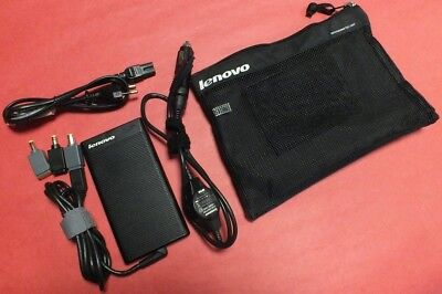 Original Lenovo 90W Ultraslim AC/DC Adapter für Reisen (PN/41N8480)