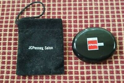 Vintage JC Penney Salon Compact Mirror with Bag