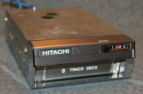 HITACHI Car Stereo 8-Track Player Model CSD-6001 DATSUN Never Installed