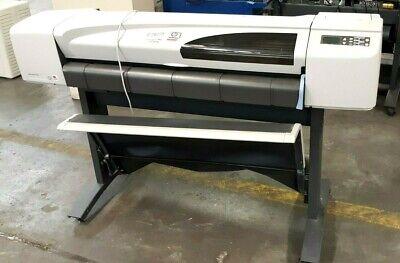 Hp Designjet 500ps 42 Model C7770c Large Format Roll Printer Free Shipping