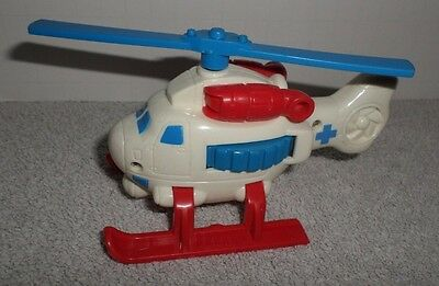 Fisher Price Geotrax Whirly Bird Rescue Helicopter