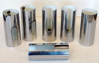 Vintage MID-CENTURY MODERN Eames GENCARELLI ANTONELLO Chrome Shade / FLOOR LAMP