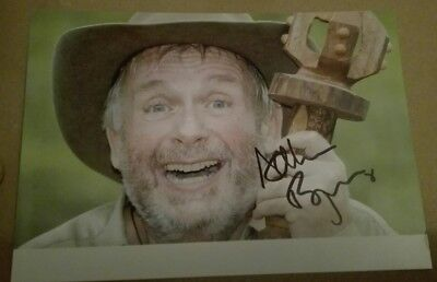 Christopher Biggins King of the Jungle hand signed Photo